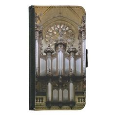 Auch Cathedral pipe organ galaxy and iPhone Fliptop case