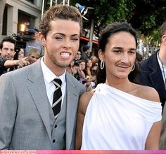 Terrifying face swap.