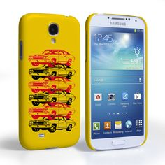 Caseflex Chevrolet Chevelle Classic Car Samsung Galaxy S4 Case- Yellow | Mobile Madhouse