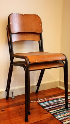 Vintage School House Chair | Old School Chairs.