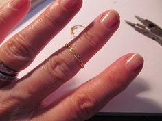 WobiSobi: Braided Wire Rings, DIY
