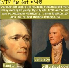 Ages of founding fathers
