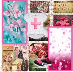 """Pink♥"" by lianis-del-carmen-almengor on Polyvore"