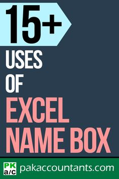 15+ uses of Excel name box Free Excel tips and tricks | Excel templates and workbooks | Excel dashboard tutorials and cheat sheets