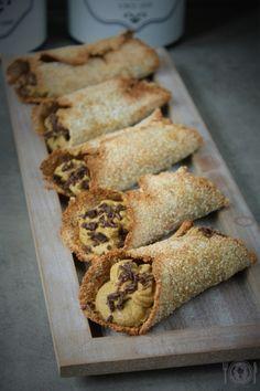 Cannoli, Paleo, Bread, Fit, Recipes, Shape, Brot, Beach Wrap