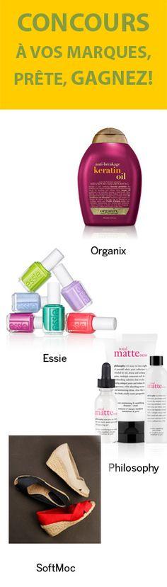 Gagnez un ensemble de produits de beauté. Fin le 31 juillet.  http://rienquedugratuit.ca/concours/produits-de-beaute/