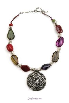 Stepping Stones Necklace $28 (N-010024 - The Finishing Touch) pg. 10