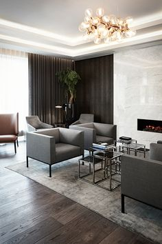 This Marriott Copenhagen, Executive Lounge interiors can also be applied for residential living rooms. interior design by Helle Flou.