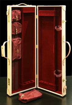 Leather pool cue case