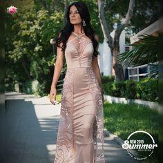 Rochie disponibila pe www.bby.ro Formal Dresses, Summer, Fashion, Tea Length Formal Dresses, Moda, Summer Time, Formal Gowns, Fashion Styles, Summer Recipes