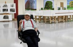 David Hockney studied at Bradford School of Art from 1953 to 1957 and the Royal College of Art from 1959 until 1962. He was awarded the Royal College of Art gold medal in 1962 in recognition of his mastery as ...