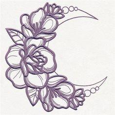Mystique Flora - Lunar Rose Blooms_image