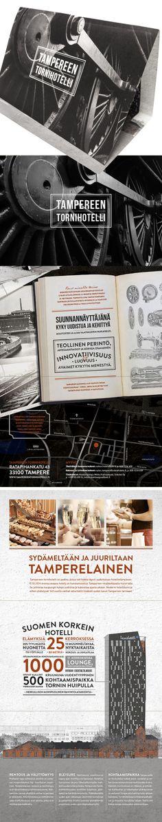 Tampereen Tornihotelli / brochure