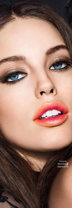 Emily Didonato – Maybelline Collection Love the lip color. Emily Didonato, Maybelline, Modelo Emily, Beauty Makeup, Eye Makeup, Makeup Art, Lip Wallpaper, Fashion Model Poses, Provocateur