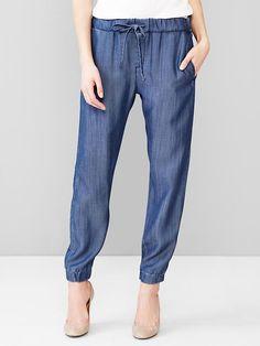 1969 Tencel&#174 denim jogger pants Product Image