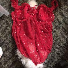 Christmas lingerie Beautiful! Frederick's of Hollywood Intimates & Sleepwear Chemises & Slips