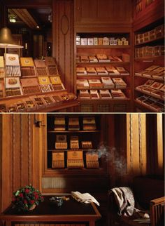 "After days of shopping, treat your men with this great ""smoking and tasting"" of #cigars and #whiskey at P.G.C. Hajenius, an amazing cigar store worth visiting!"