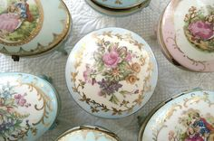 Vintage Trinket Boxes by such pretty things, via Flickr