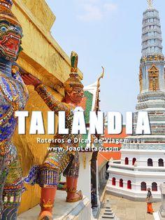 Visitar Tailândia: roteiros, guia de melhores destinos para viajar, fotos, transportes, alojamento, restaurantes, dicas de viagem e mapas.