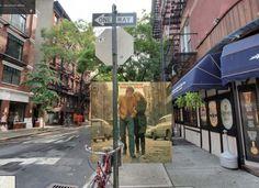 Tapas de Discos con Google Street View