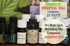 The big names in Essential Oils are Young Living and doTERRA--but they'll set you back quite a few bucks. Are they worth it? Come find out what I think about that...it gets pretty dicey in the comment area--you've been warned :)!