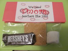 I received this from my principal for Valentine's Day... So cute!