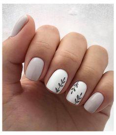 Fall Nail Art Designs, Diy Nail Designs, Short Nail Designs, Acrylic Nail Designs, Nail Design For Short Nails, Manicure For Short Nails, Short Nails Art, Trendy Nail Art, Oval Nails