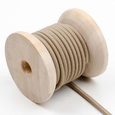 Elastische Kordel -beige -3mm -4 Meter