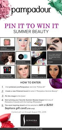 Beauty Products and Makeup Tutorials to Capture and Share   Pampadour #pampadour