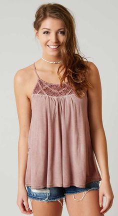 Daytrip High Neck Tank - Women's Clothing | Buckle