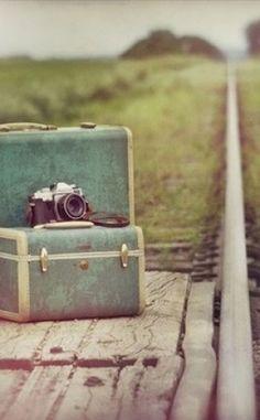 Camera Love Suitcase Traveling - Inspiring Picture On Favim.com