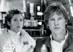 Fuck Yeah Han and Leia: Photo Han Solo And Chewbacca, Han And Leia, Star Wars Legacy, Star Wars Cast, Princesa Leia, Star Wars Ships, Original Trilogy, The Empire Strikes Back, Harrison Ford