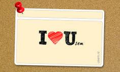 I love Usem (note cards)