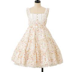 Suger Flower jumper skirt Angelic pretty ☆ ·.. · ° ☆ ·.. · ° ☆ ·.. · ° ☆ ·.. · ° ☆ ·.. · ° ☆ http://www.wunderwelt.jp/products/detail8027.html ☆ ·.. · ° ☆ How to buy ☆ ·.. · ° ☆ http://www.wunderwelt.jp/user_data/shoppingguide-eng ☆ ·.. · ☆ Japanese Vintage Lolita clothing shop Wunderwelt ☆ ·.. · ☆ #sweetlolita