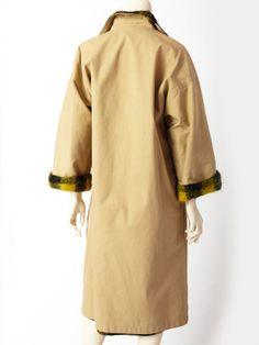 Geoffrey Beene reversible coat - Back view.