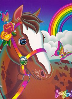 Lisa Frank Vintage Rainbow Chaser Horse Puzzle Complete with box and 250 pieces 90s Childhood, Childhood Memories, Lisa Frank Stickers, Rainbow Brite, Ol Days, 90s Kids, Colorful Pictures, Pretty Pictures, Retro