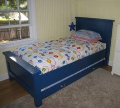 Stetsons bed? The Boy's Bed | Do It Yourself Home Projects from Ana White