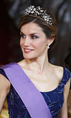All about Queen Letizia of Spain's stunning Mellerio Floral tiara
