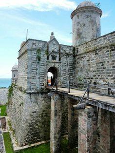 Fortaleza de Nuestra Señora de los Angeles Jagua Cienfuegos epoca de la costruccion siglo CVll