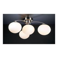 PLC Lighting Aosta 4 Light Semi Flush Mount & Reviews | Wayfair