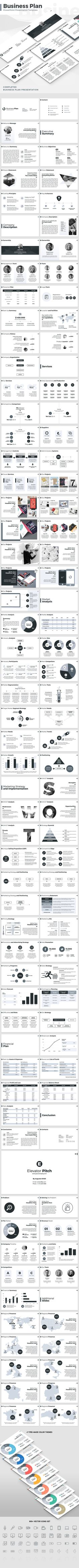 Business Plan - PowerPoint Presentation Template - PowerPoint Templates Presentation Templates Download here: https://graphicriver.net/item/business-plan-powerpoint-presentation-template/18705880?ref=classicdesignp