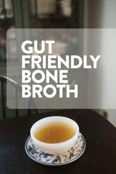 GUT FRIENDLY BONE BROTH (Via JacinthaPayne.com)