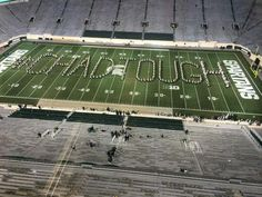 Some things are bigger than football, and there was a tremendous example of it Saturday night at Spartan Stadium.