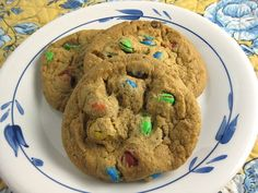 Delicious, Soft, and Chewy Cookies with M&M Candies