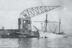 Bnr. 422 (1912) 'Taranto' 150 ton foto: St. Erfgoed Werf Gusto fotograaf: Onbekend