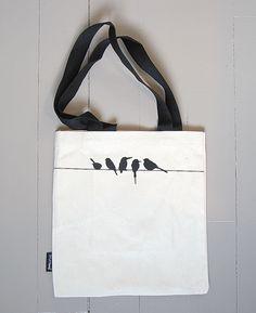 STUFFbæg, alle fugler små de er ... Reusable Tote Bags
