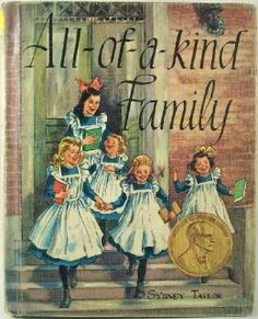 All-of-a-Kind Family by Sydney Taylor.  One of my favorite vintage children's series!