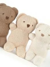 Knitted bears from Loop