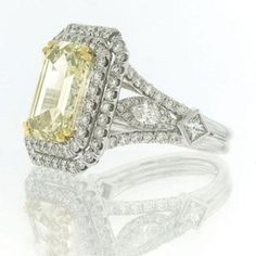 Im a sucker for a fancy diamond. 7.37ct Fancy Brownish Yellow Emerald Cut Diamond Engagement Anniversary Ring http://www.amazon.com/gp/product/B0055P38QS/ref=as_li_ss_tl?ie=UTF8=black01-20=as2=1789=390957=B0055P38QS