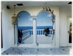 Trompe L'Oeil Mural